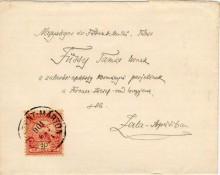 Levél, 1901