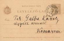 Levelezőlap, 1912