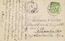 Levelezőlap, 1909
