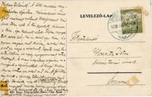 Képes levelezőlap, 1920