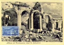 Monte Cassino bélyegen