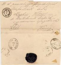 Kőszegre induló levél (1867)