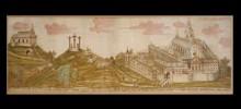 Pannonhalma látképe keleti irányból