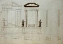 Szent Kereszt-oltár tervváltozatai