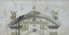Szent István-oltár terve