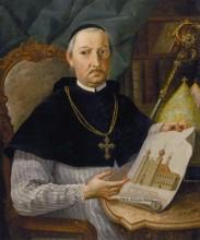 Lécs Ágoston tihanyi apát arcképe