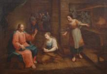 Jézus Mária és Márta házában