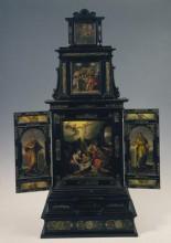 Triptychon formájú házioltár