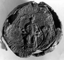 II. Géza király pecsétje
