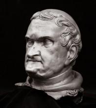 Novák Krizosztom főapát portréja